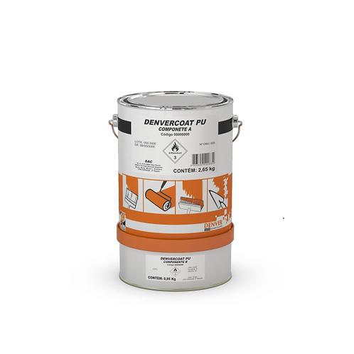 Tinta poliuretânica de elevada resistência química - Denvercoat Poliuretano