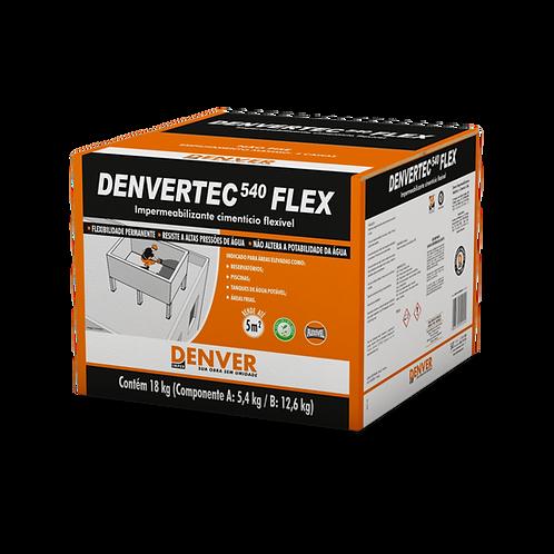 Impermeabilizante Cimentício Flexível Termoplástico - DENVERTEC 540 FLEX