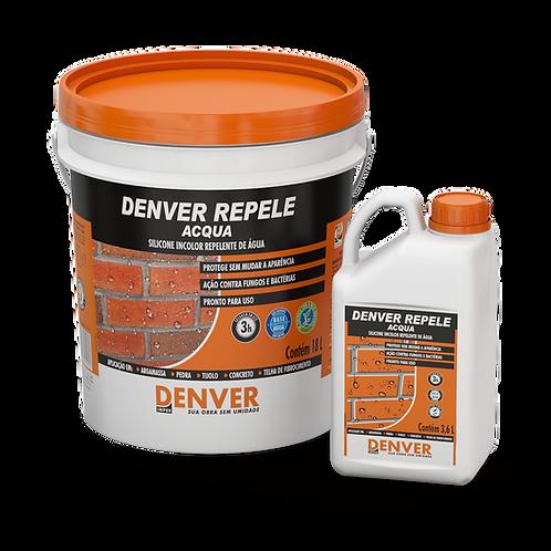 Silicone incolor repelente de água 18L - Denver Repele Acqua