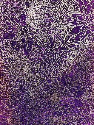 Purple Metallic Mums