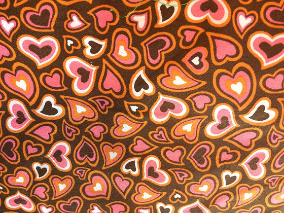 Pink & Brown Hearts