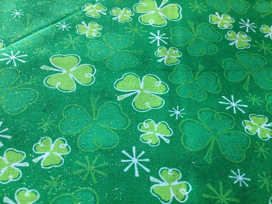 Lucky Glitter Shamrocks