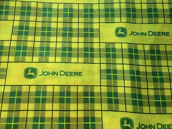 Yellow John Deere Mask