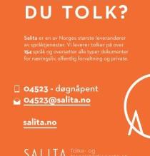 Trenger du tolk?