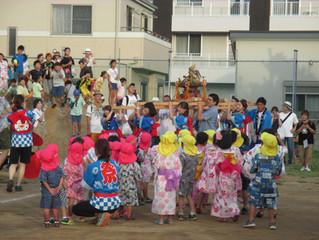夏祭り(おみこし・盆踊り)