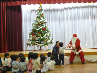 うさぎぐみ・ひよこぐみクリスマス会