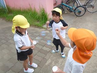 幼稚園の夏休み