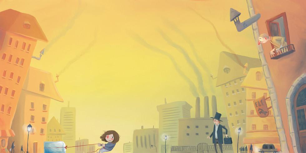 scene in the city, silend book