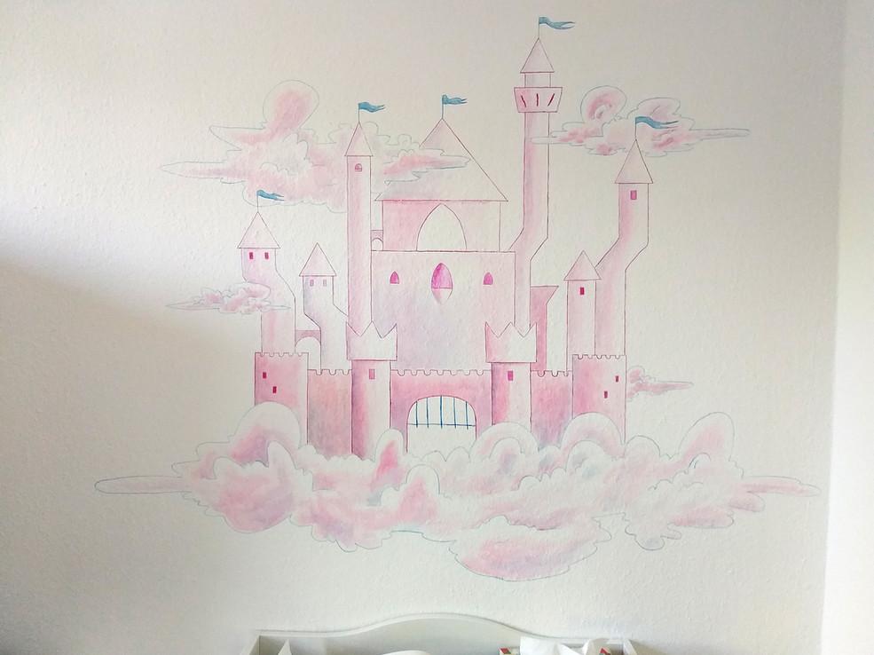Wandgemälde kinderzimmer Berlin