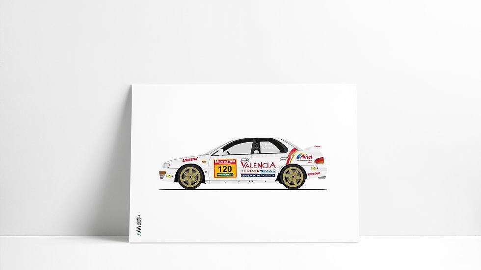 Subaru Impreza STI LEGEND