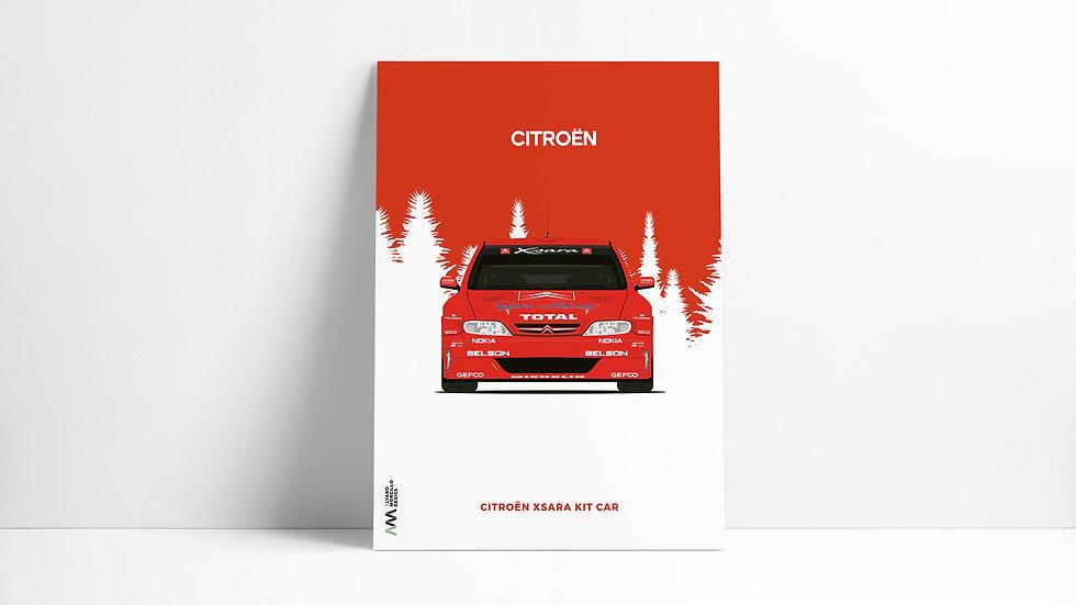 Citroen Xsara Kit Car Art