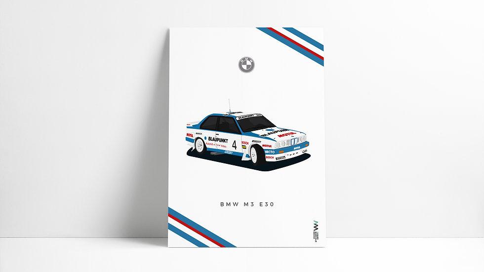 BMW M3 E30 Blaupunkt ART