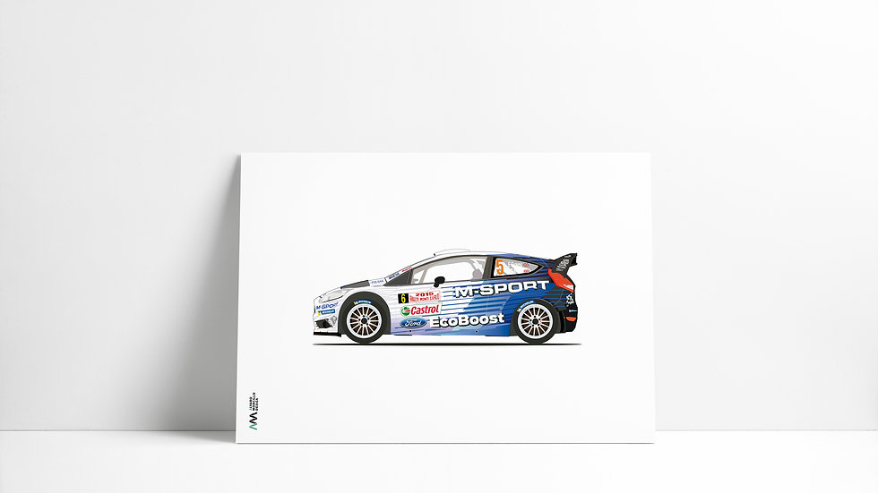 Ford Fiesta M Sport #6 WRC