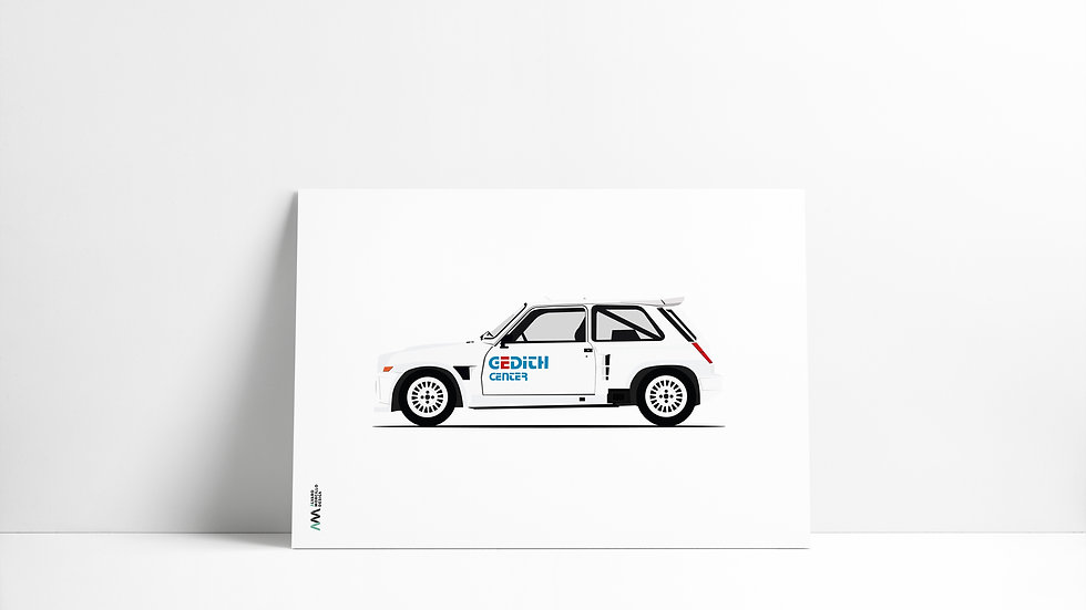 Renault R5 Turbo LEGEND