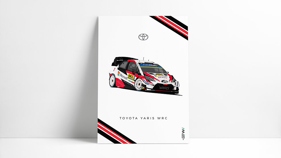 Toyota Yaris Wrc Art