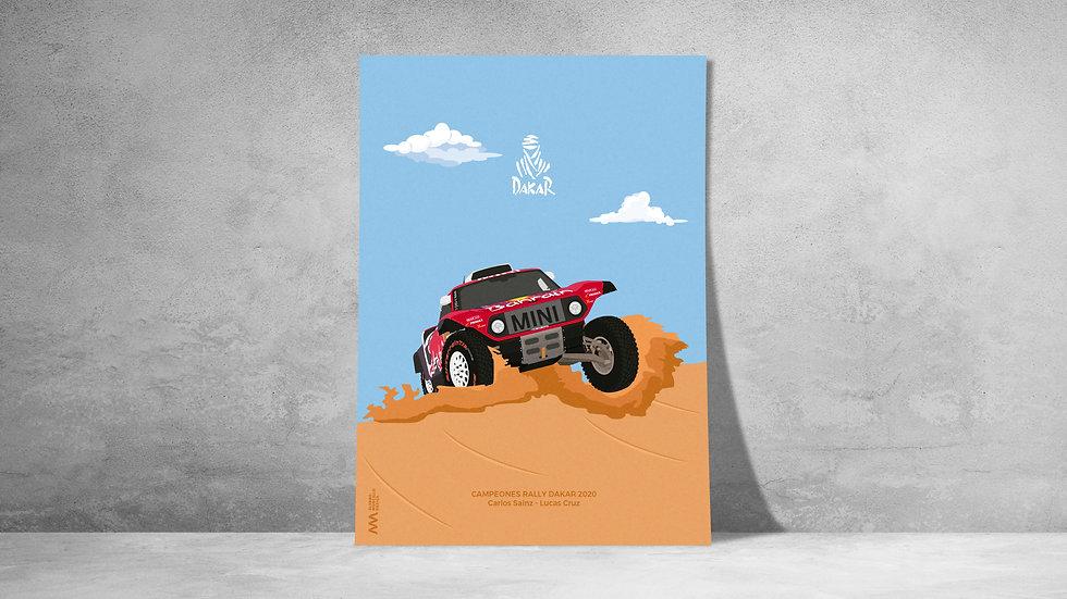 Mini Dakar Sainz 2020