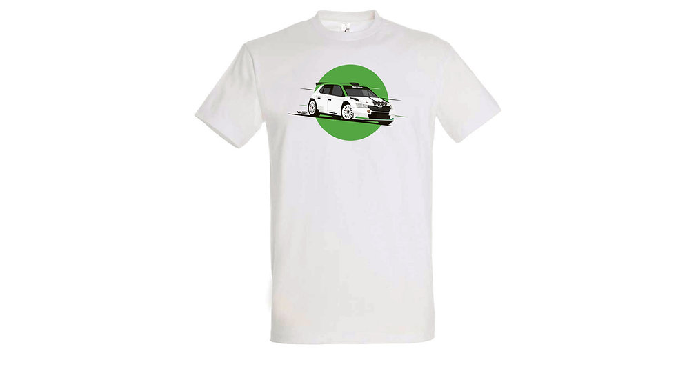 Camiseta Skoda Fabia R5 Evo