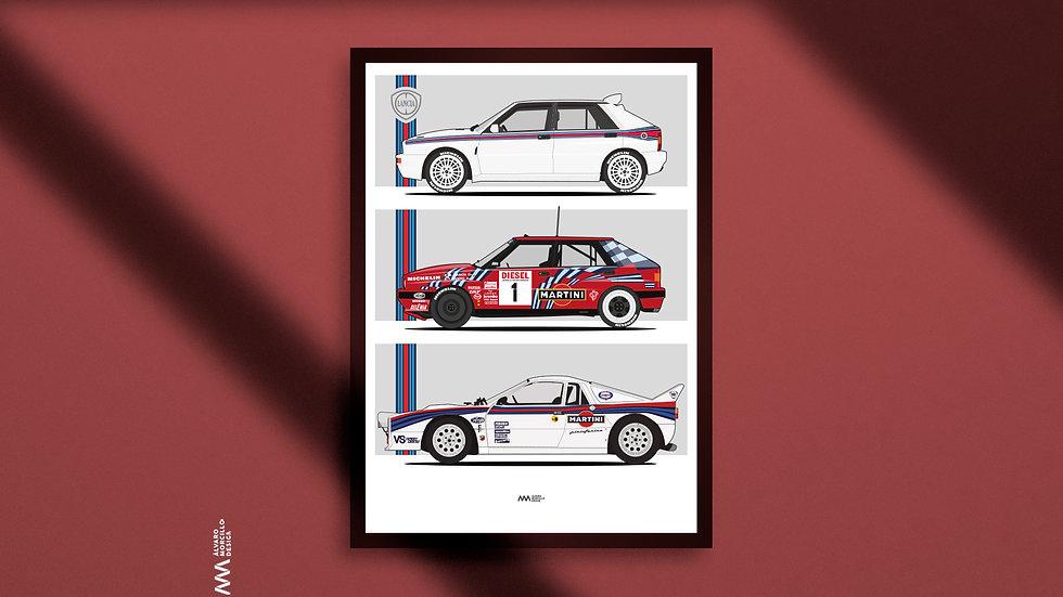 Lancia Martini Art