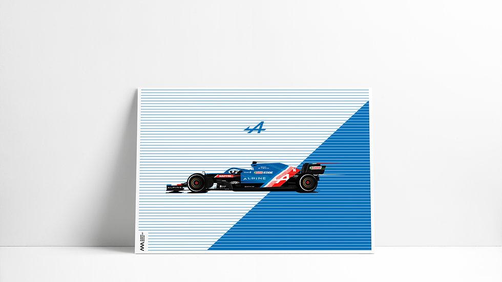 Alpine 2021 Alonso