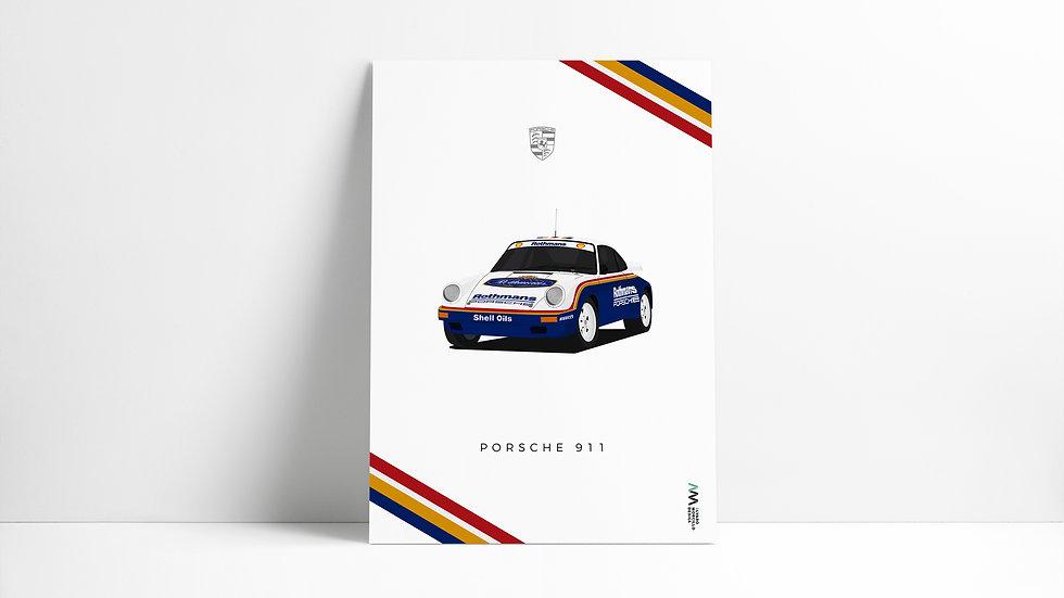 Porsche 911 Rothmans ART