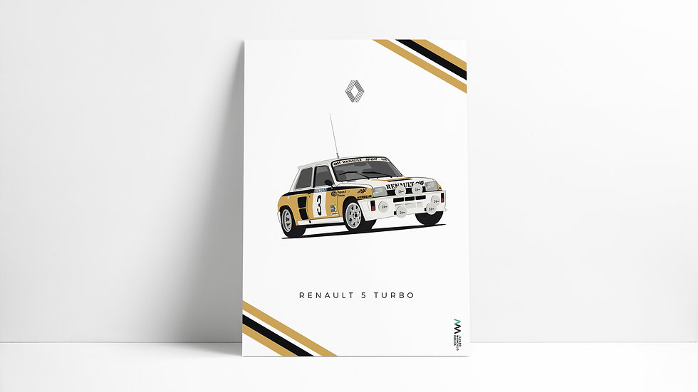 Renault 5 Turbo ART
