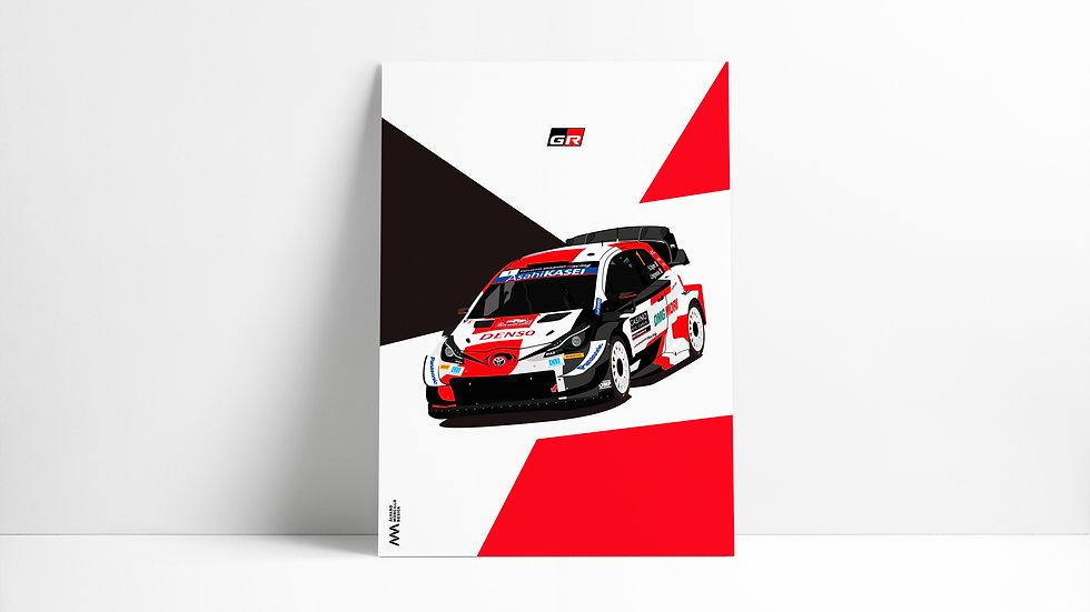 Toyota Yaris Wrc 2021 Art