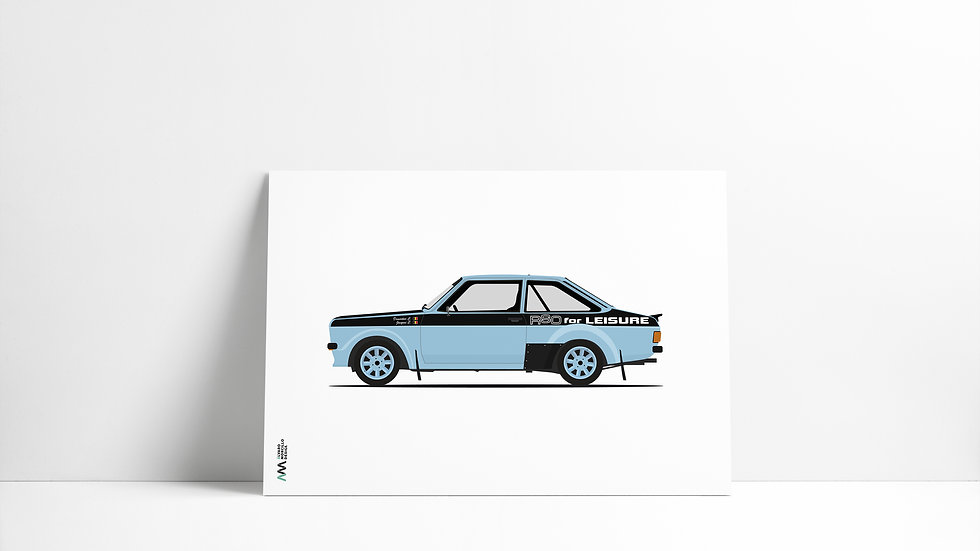Ford Escort MK2 LEGEND
