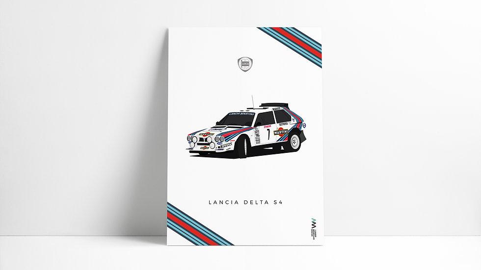 Lancia Delta S4 Martini ART