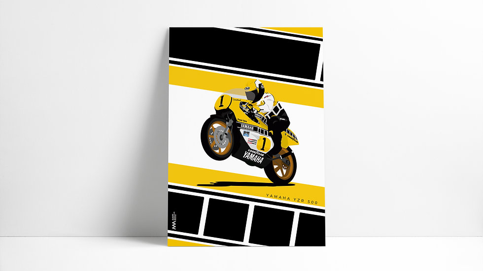 Yamaha YZR 500 Art