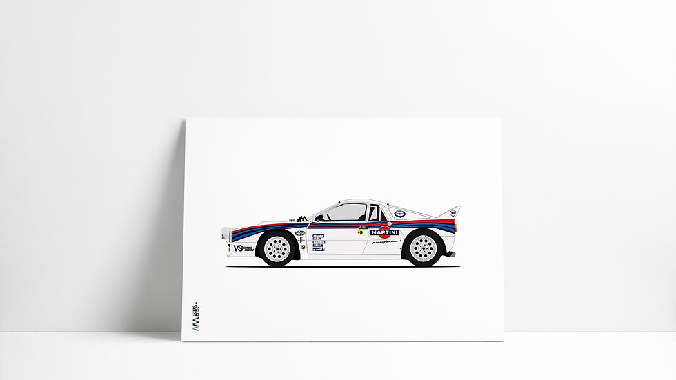 Lancia 037 Martini LEGEND