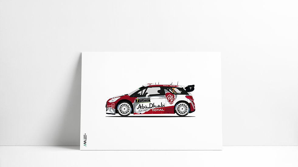 Citroen DS3 K. Meeke WRC