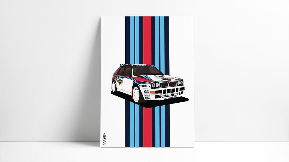 Lancia Delta Integrale Art