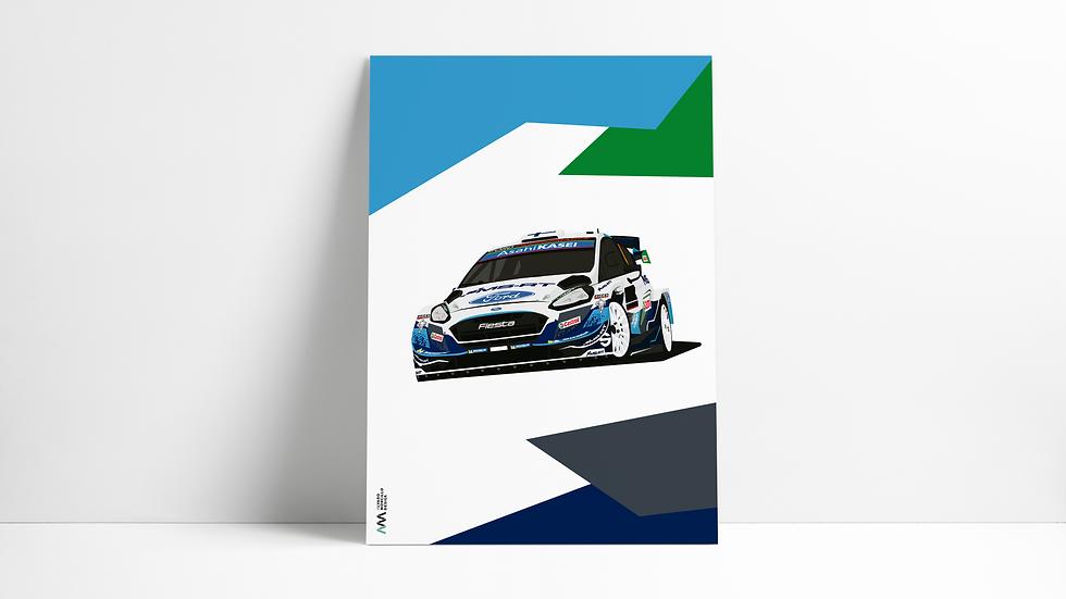 Ford Fiesta Wrc 2020