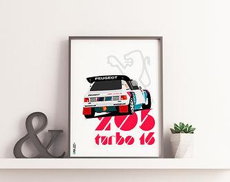peugeot Poster Frame Mockup PSD 2018.jpg