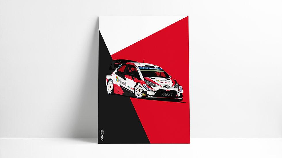 Toyota Yaris Wrc 20 Art