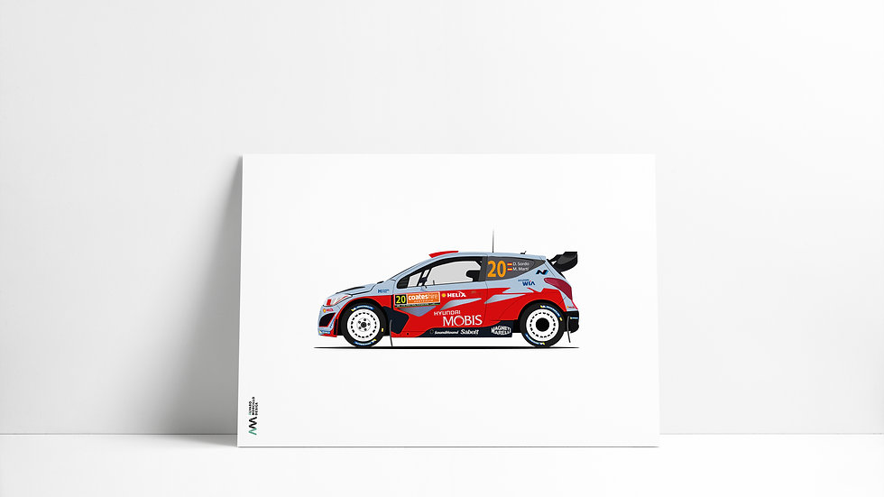 Hyundai I20 D. Sordo WRC