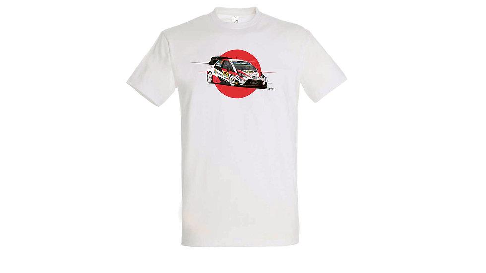 Camiseta Toyota Yaris Wrc