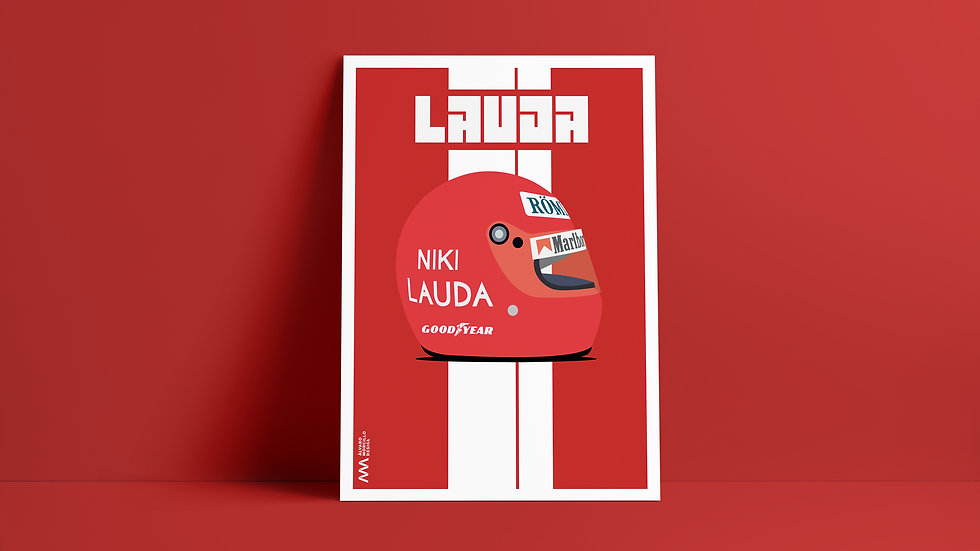 Casco Niki Lauda