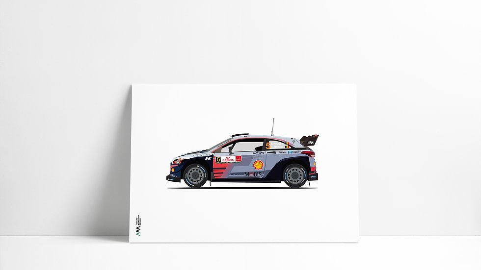 Hyundai I20 T. Neuville WRC
