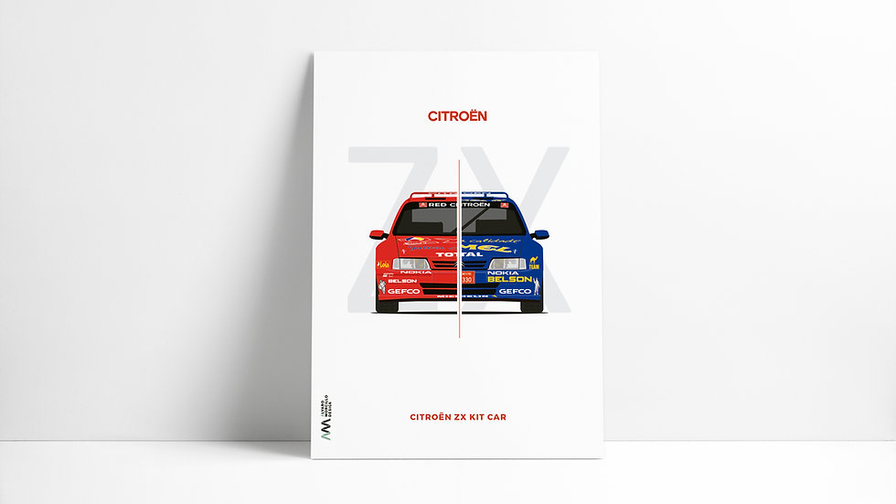 Citroen ZX Kit Car Art