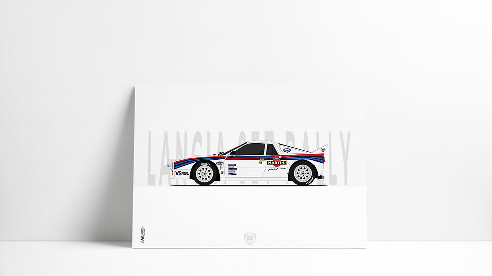 Lancia 037 MARTINI ART