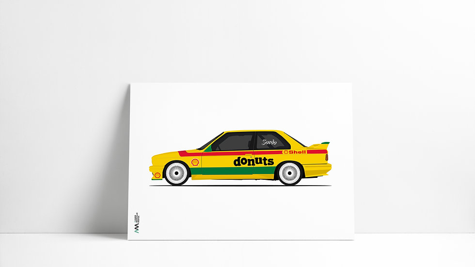 Bmw M3 E30 Sordo LEGEND