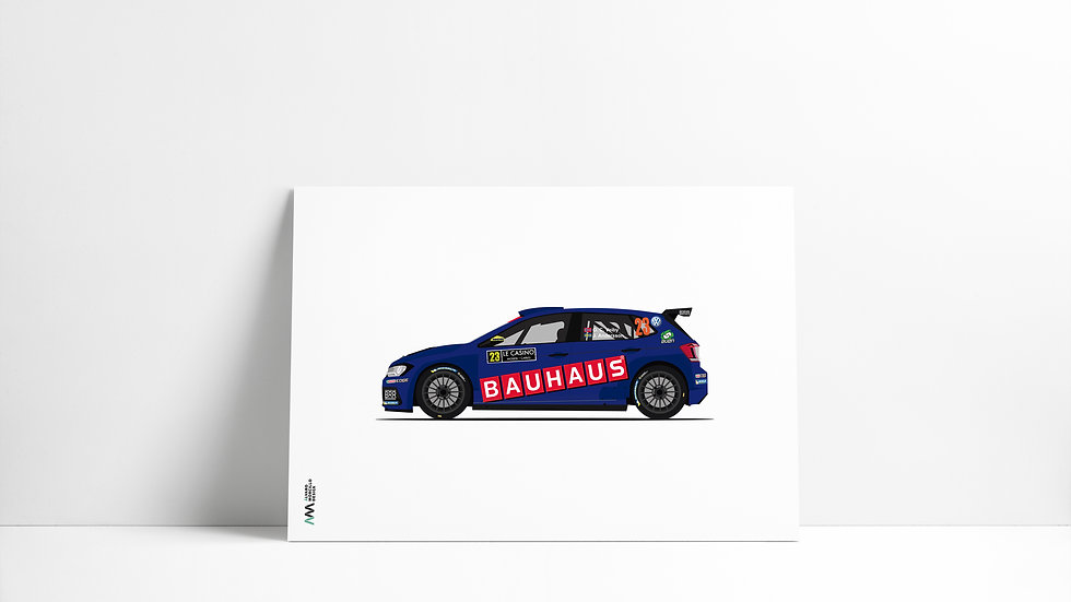 Volkswagen Polo GTI BAUHAUS R5