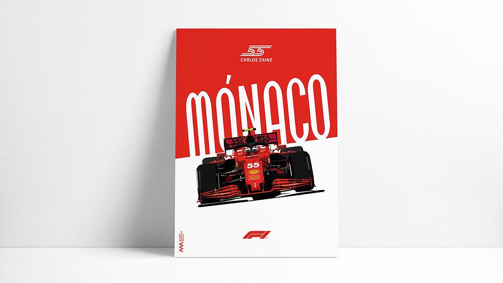 Carlos Sainz Mónaco ´21