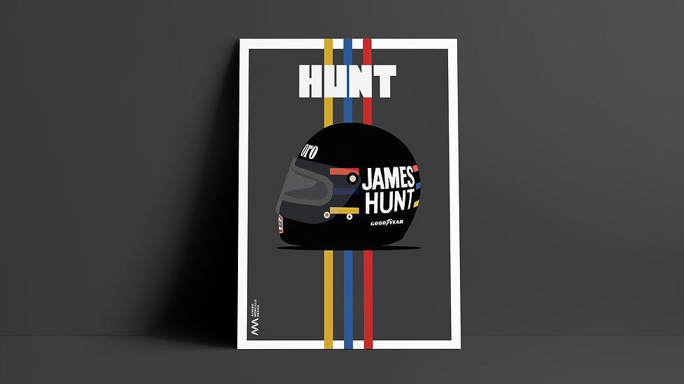 Casco James Hunt