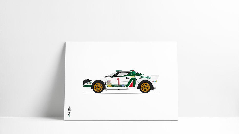 Lancia Stratos LEGEND