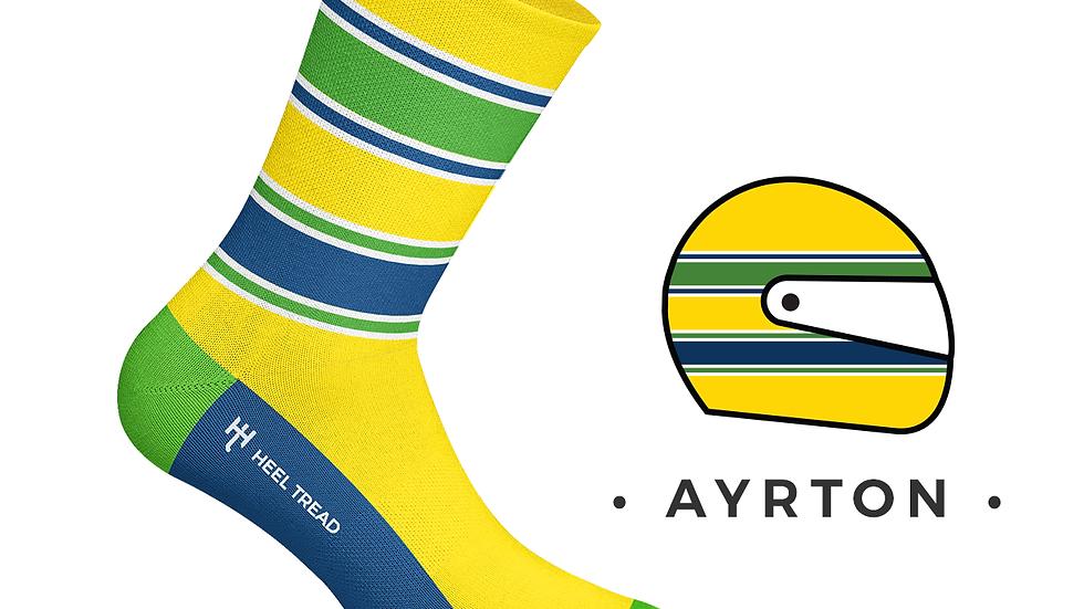 Calcetines Ayrton Senna