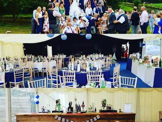 Big Drinking Cheshire Marquee Wedding Bar
