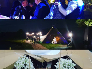 Great Tipi Bar Wedding in Cheshire