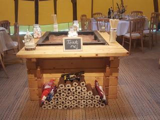 Wedstock - Tipi Festival Wedding